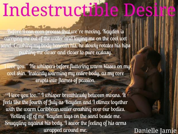 Teaser for Indestructible Desire