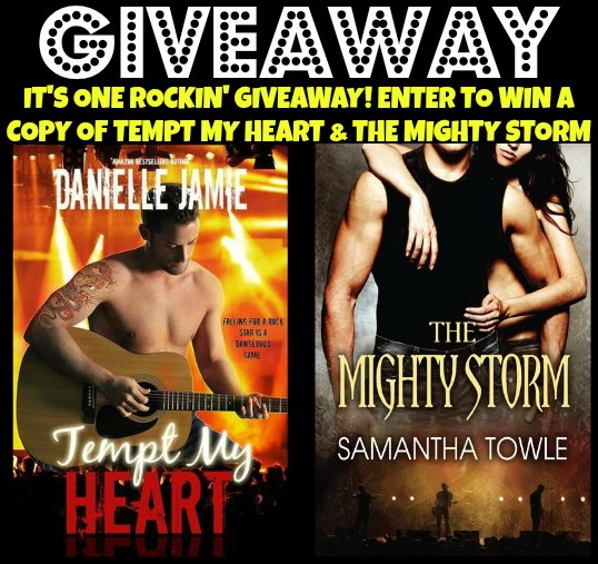 Enter to WIN Tempt My Heart & The Might Storm!